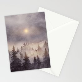 Into The Forest III Stationery Cards