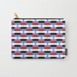 Mix of flag: Israel and Egypt Carry-All Pouch