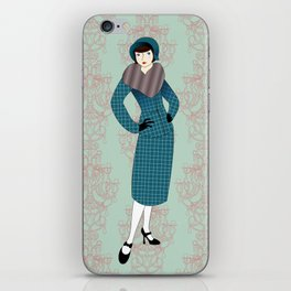 Flapper ready for the new Roaring Twenties! (3) iPhone Skin