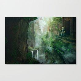 Skyworld Canvas Print