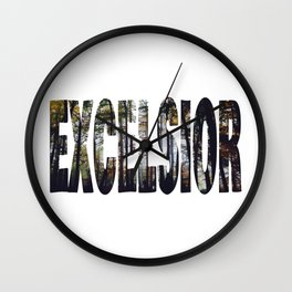 Excelsior - The Raven Cycle Wall Clock