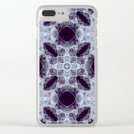 Art Nouveau in the dark Clear iPhone Case