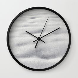 Texture #9 Snow Wall Clock