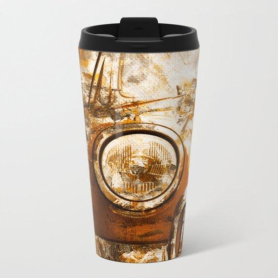 Car Wash 2 Metal Travel Mug