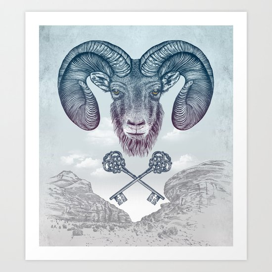 The Ram (Aries) Art Print