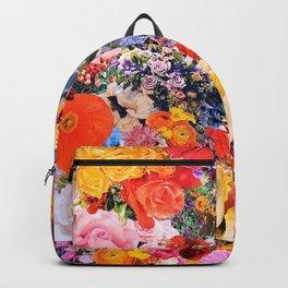 Garden Variety collage art Backpack