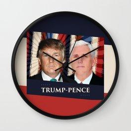 Trump Pence 2016 Wall Clock