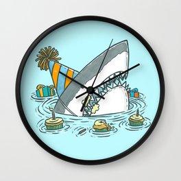 Birthday Shark II Wall Clock