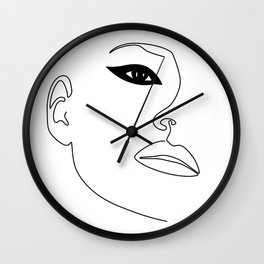 Kate Eye Wall Clock