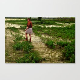 Witcover Street - Dirt Road Canvas Print