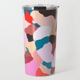 petals: abstract painting Travel Mug