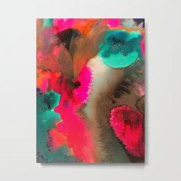 Modern Storm Abstract Metal Print