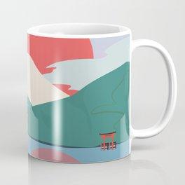 Mt Fuji from Hakone National Park Coffee Mug