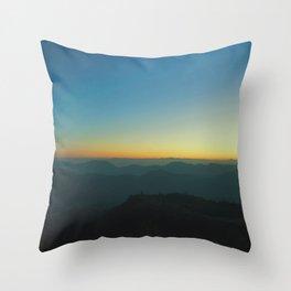 Peak of Keokradong Throw Pillow