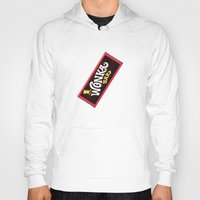 willy wonka Hoodies featuring Wonka Chocolate Bar by ThreeBoys