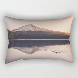 Wild Mountain Sunrise Rectangular Pillow