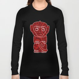 Tiki Monkey Long Sleeve T-shirt
