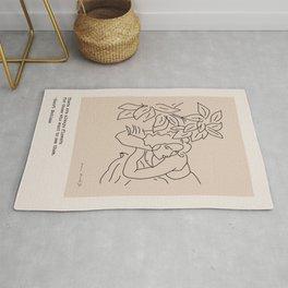 Matisse Quote Rug