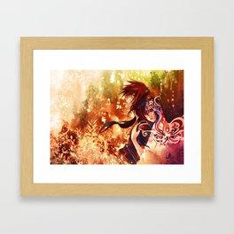 Niji Framed Art Print