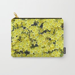 Happy Forsythia Carry-All Pouch