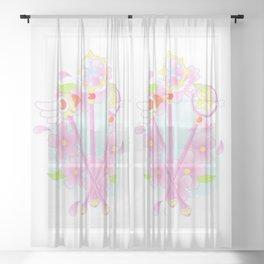cardcaptor sakura wands Sheer Curtain