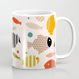 fish ocean sea shape Coffee Mug