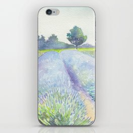 Lavender Fields iPhone Skin