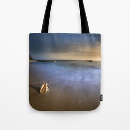 Wave Series Photograph No. 14 - Time Goes By Tote Bag