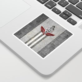 poloplayer grey Sticker