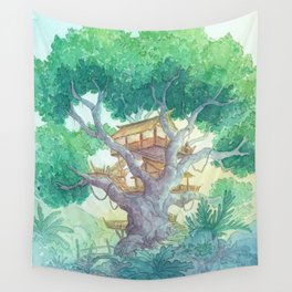 Tree Top Wall Tapestry