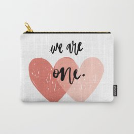 Soul mates hearts Carry-All Pouch