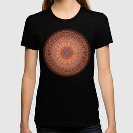 Becoming on Black Background T-shirt