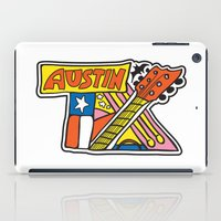austin iPad Cases featuring Austin TX by Brandon Ortwein