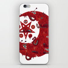 The Blood Moon Compels You to Fuck Shit Up iPhone & iPod Skin