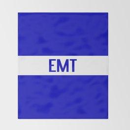 EMT: The Thin White Line Throw Blanket