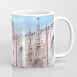 Jerónimos Monastery - Gothic Architecture, Manueline - Lisbon, Portugal Coffee Mug