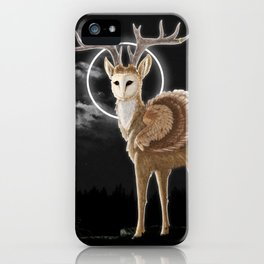 The night is calling iPhone Case