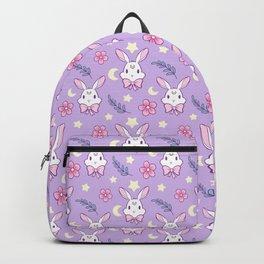 Sakura Bunny // Purple Backpack