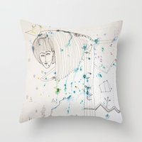 fairy tale Throw Pillows featuring Fairy Tale by KSKS