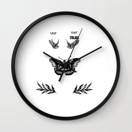 Harry's tattoo Wall Clock