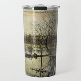 Beaver Pond ~ Ginkelmier Inspired  Travel Mug