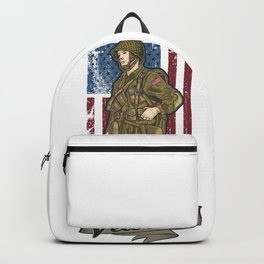 America world war veteran Backpack