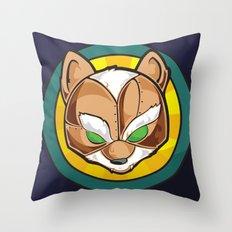 Starfoxxx Throw Pillow