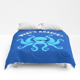 What's Kraken? Comforters