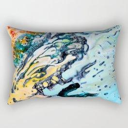 Abstract Melt VI Rectangular Pillow