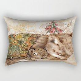 Knitted Hibernation  Rectangular Pillow