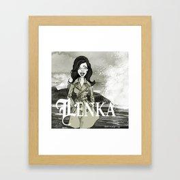 Lenka! Framed Art Print