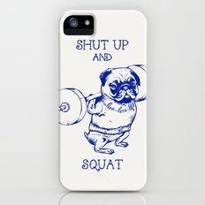 Pug Squat Slim Case iPhone (5, 5s)