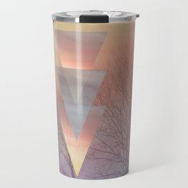 Techno Skyline Travel Mug