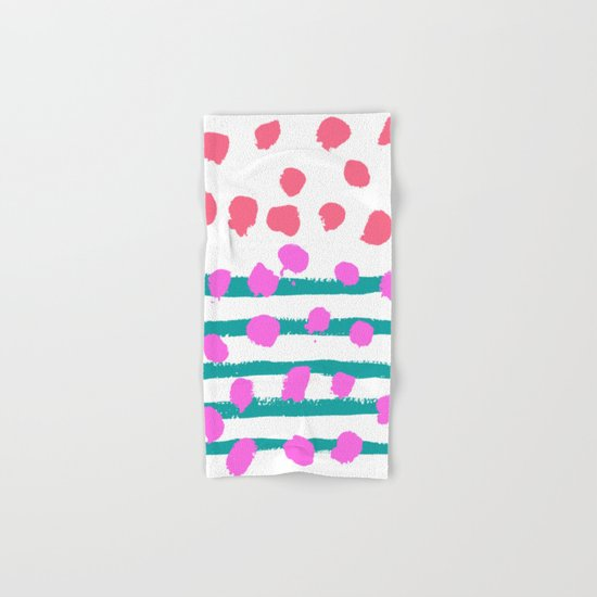 Summer Colours Hand & Bath Towel